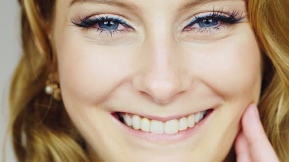 Thumbnail for Beautiful Young Woman Smiling At The Camera