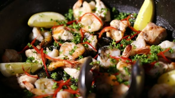Thumbnail for Tasty Spanish Dish Paella