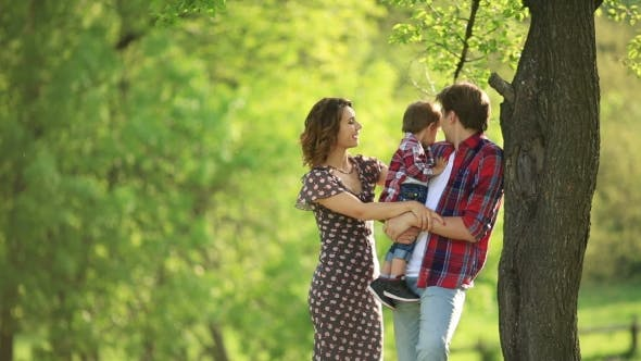 Thumbnail for Happy Family on the Nature