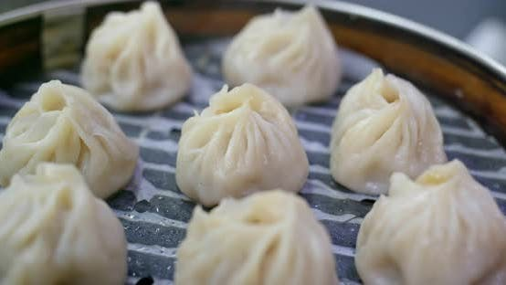 Thumbnail for Steamed chinese meat dumpling