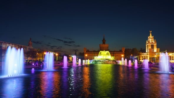 Thumbnail for Show Colored Fountains