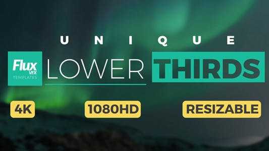 Thumbnail for Unique Lower Thirds