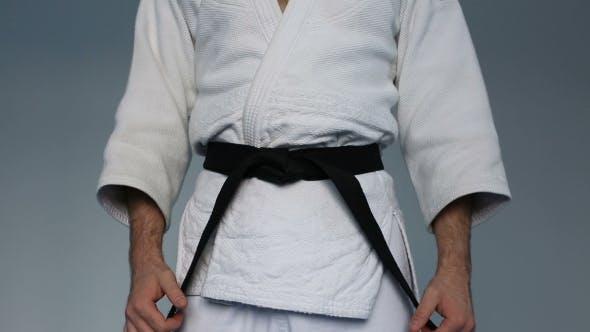 Thumbnail for Kampfsportmeister mit schwarzem Gürtel