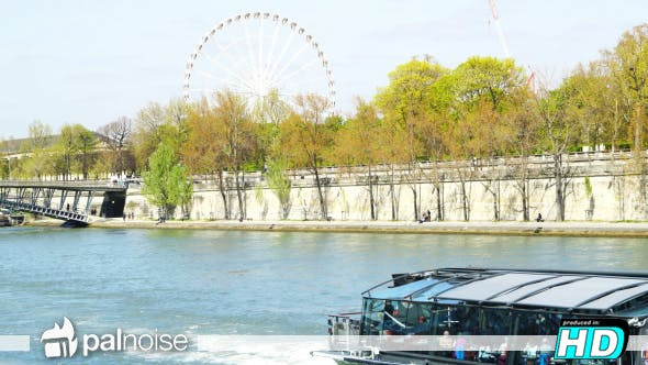 Thumbnail for Paris View from River