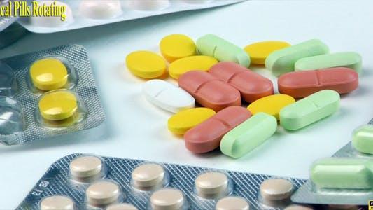 Thumbnail for Medical Pills Rotating