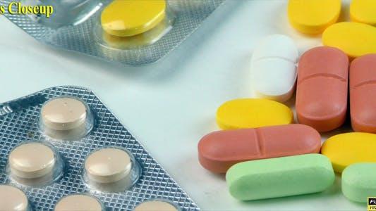 Thumbnail for Pills Closeup