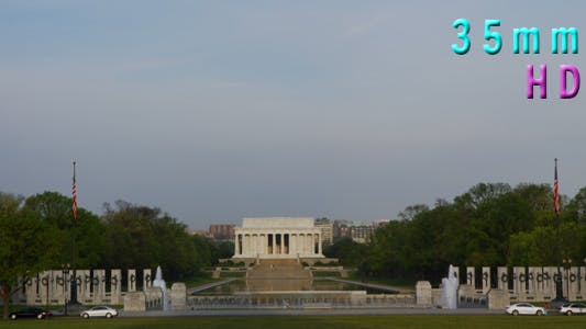Thumbnail for National World War II Memorial, Lincoln Memorial in Background 06