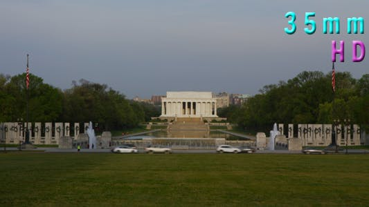 Thumbnail for National World War II Memorial, Lincoln Memorial in Background 07