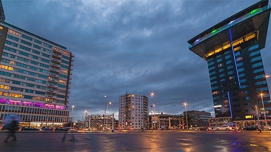 Thumbnail for Traffic Modern City Rain
