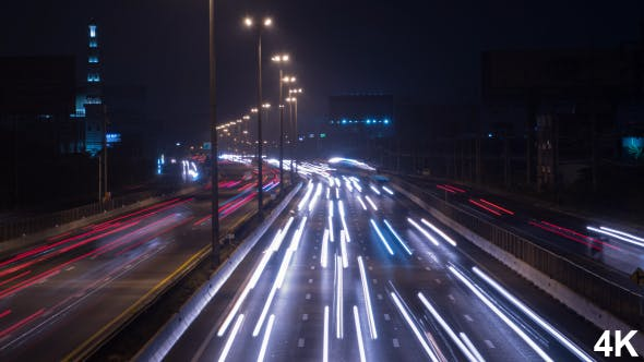 Thumbnail for Traffic Night City