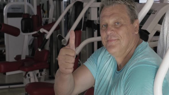 Thumbnail for Tired After Training Man Showing Thumb-up
