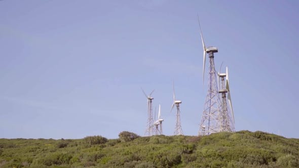 Thumbnail for Wind Turbines On a Hilltop