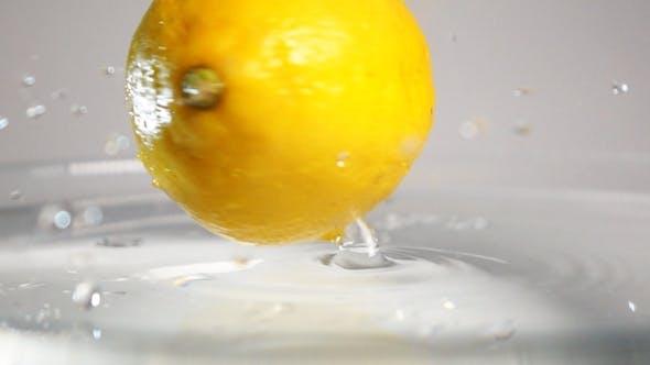 Thumbnail for Lemon Swirling In Water