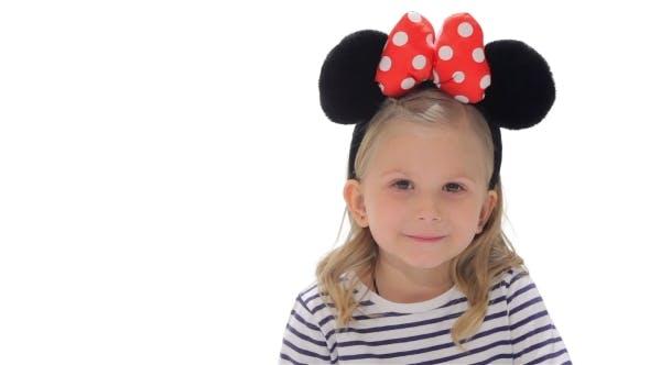 Little Girl Makes Silence Gesture