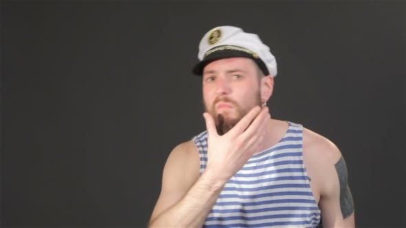 Thumbnail for Bearded Captain Tidies Himself
