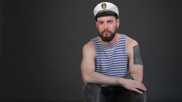 Thumbnail for Bearded Sailor Gets Bored