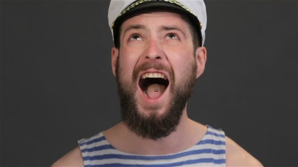 Thumbnail for Bearded Captain Screams Upwards
