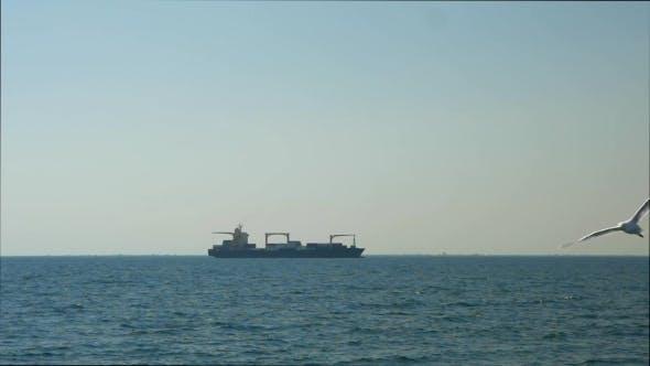 Thumbnail for Cargo Ship In Sea