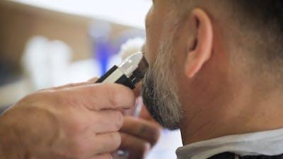 Engaged Beard Respectable Businessman.