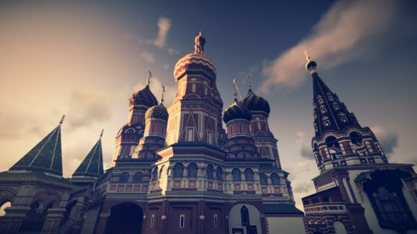 3D Saint Basil Cathedral