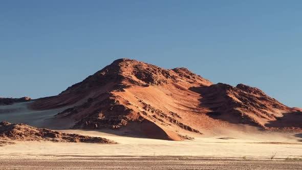 Time Lapse Namibia Sunset Desert