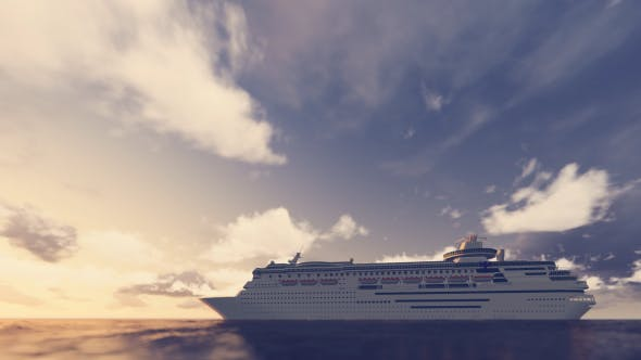 Thumbnail for Cruise Ship On The Sea