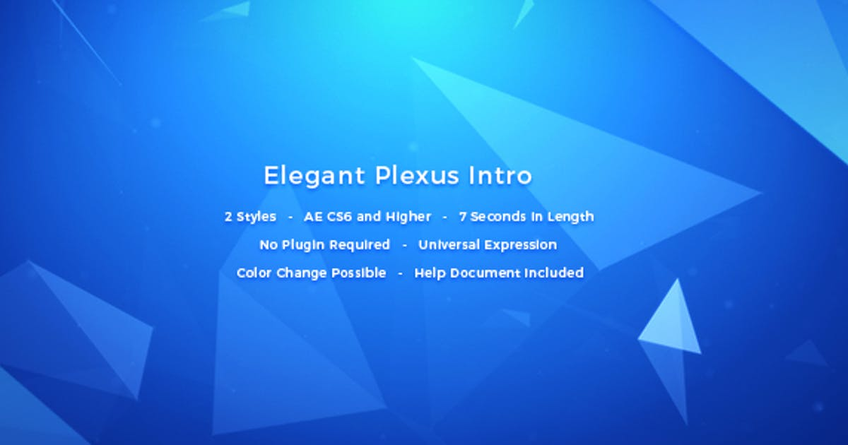 Elegant Plexus Intro