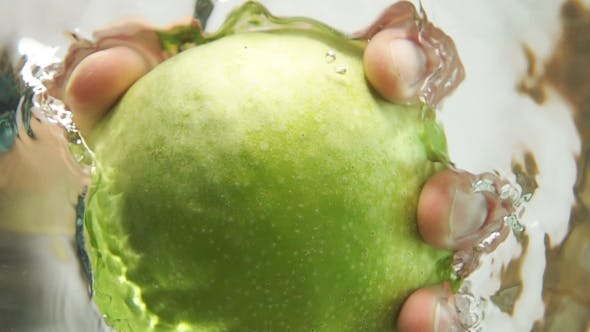 Thumbnail for Grabbing Apple From The Water