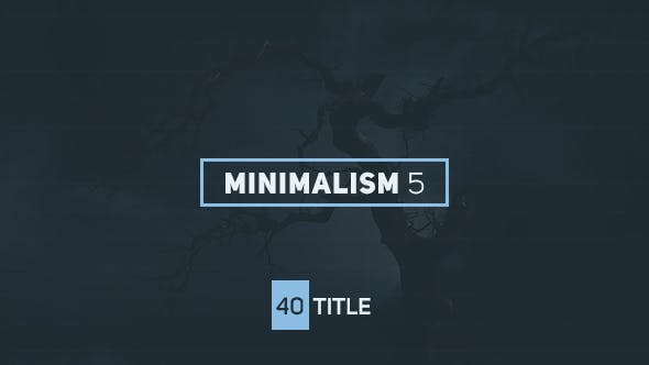 Cover Image for Minimalism 5
