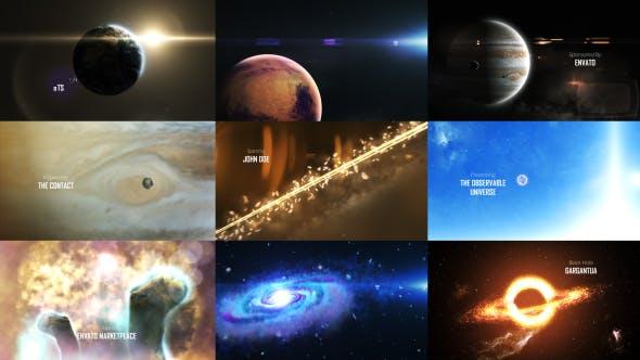 Thumbnail for Système solaire 3 (L'Univers observable) 8K