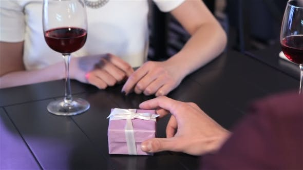Thumbnail for Man Presents The Engagement Ring To His Girlfriend