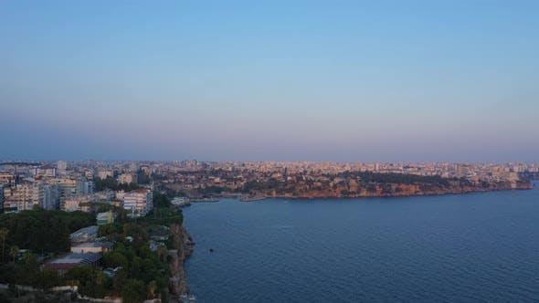 Thumbnail for Antalya City Shore At Sunset