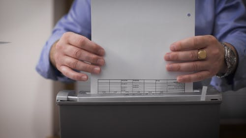 Destroying Documents