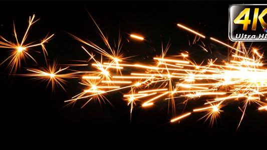 Thumbnail for Sparks Flame Light from Fireworks 1