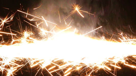 Thumbnail for Sparks Flame Light from Fireworks 5