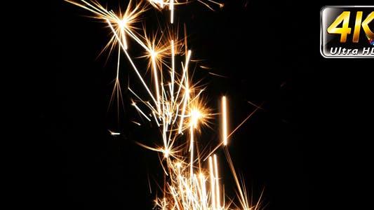 Thumbnail for Sparks Flame Light from Fireworks 6