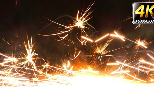Thumbnail for Sparks Flame Light from Fireworks 11