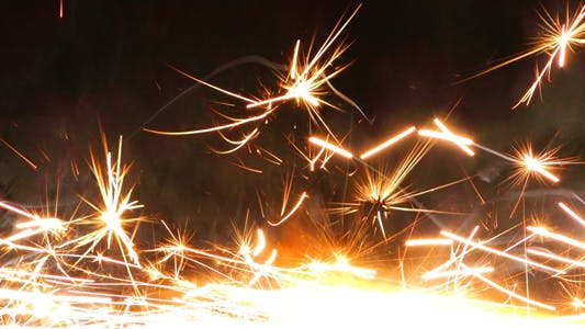 Thumbnail for Sparks Flame Light from Fireworks 11