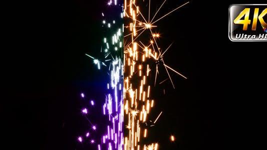 Thumbnail for Sparks Flame Light from Fireworks 12