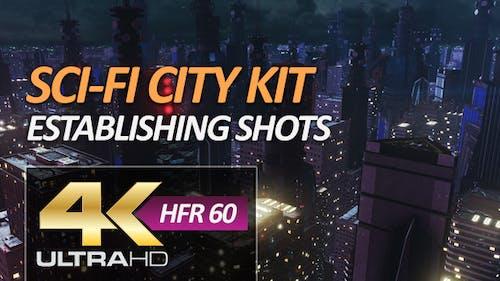Sci-Fi City Pack - Establishing Shots