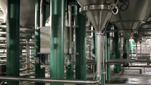 Cover Image for Pipes At a Beer Plant