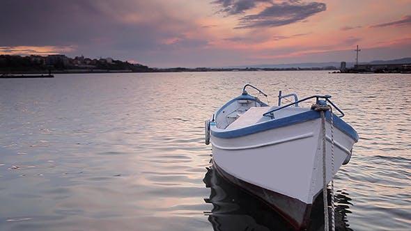 Thumbnail for Fishing Boat at Sunset