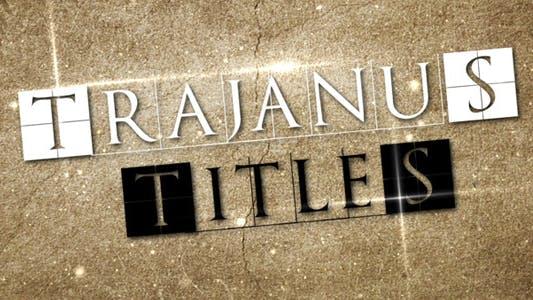 Thumbnail for Trajanus Titles - Epic trailer