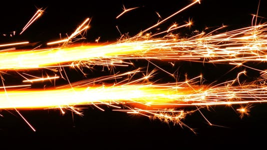 Thumbnail for Sparks Flame Light from Fireworks 3