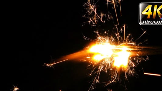 Cover Image for Sparks Flame Light from Fireworks 9