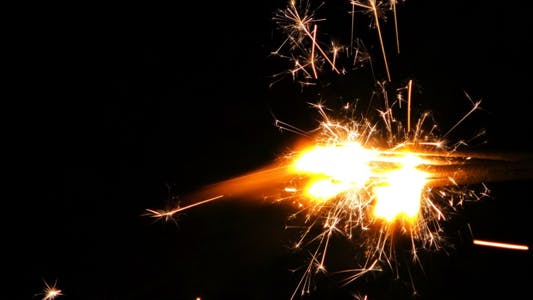 Thumbnail for Sparks Flame Light from Fireworks 9