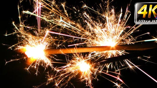 Cover Image for Sparks Flame Light from Fireworks 10