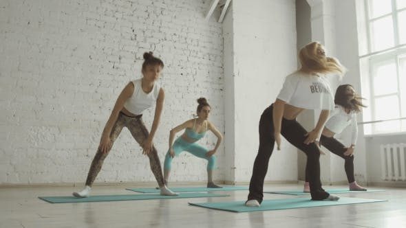 Thumbnail for Young Girls Doing Yoga