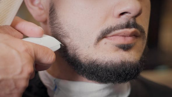 Thumbnail for Barber Leveled With a Beard Trimmer