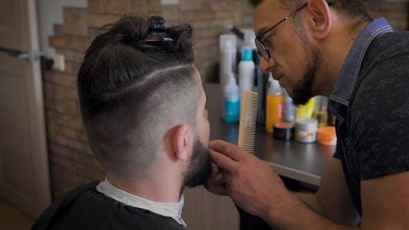 Fashion Barbershop Or Salon Hairstyles